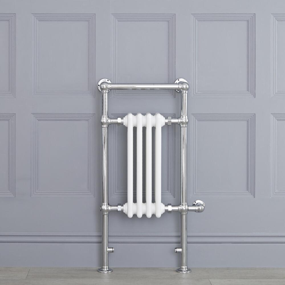Costo Verniciatura Termosifoni Ghisa radiatore scaldasalviette - elettrico - tradizionale bianco - 930mm x 452mm  - elizabeth