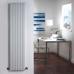 Radiatore di Design Verticale  - Bianco - 1600mm x 354mm x 54mm - 862 Watt - Sloane