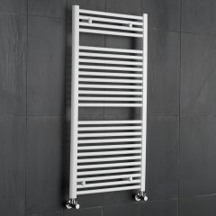 Radiatore Scaldasalviette Piatto - Bianco - 1200mm x 600mm x 30mm - 815 Watt - Etna