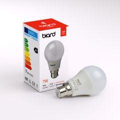 Biard Kit con 6 Lampadine LED B22 7W Non Dimmerabile