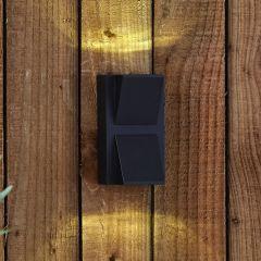 Applique Murale da Esterno Nero Bidirezionale LED 6W - Architect