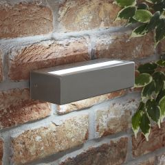 Biard Applique da Esterno in Accio Inox con LED Integrato - Ternay