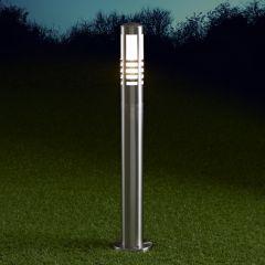 Biard Paletto LED da Esterno 6W in Acciaio Inox 600mm con Lampadina E27 - Orleans