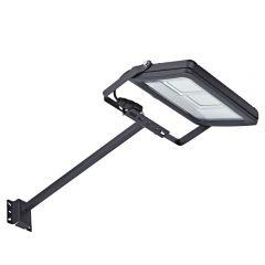 Kit LED per Esterni Completo di con Braccio 0,5m con Faretto Proiettore 50W IP65