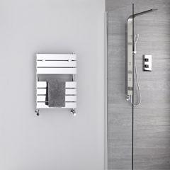 Radiatore Scaldasalviette - Piatto - Cromato - 620mm x 450mm - 209 Watt - Lustro