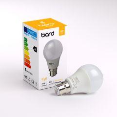 Biard Kit con 6 Lampadine LED B22 Dimmerabili 5W