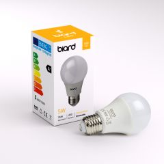 Biard Kit con 6 Lampadine LED E27 Dimmerabili 5W