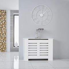 Copriradiatore Bianco Orizzontale 820mm x 1100 x 190mm - Newham