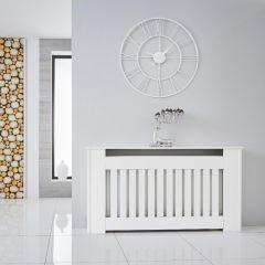 Copriradiatore Bianco Verticale 820mm x 1520 x 190mm - Sutton