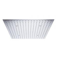 Soffione Doccia da Incasso Quadrato a Soffitto Quadrato 600x600mm Effetto Pioggia in Acciaio Inox – Trenton