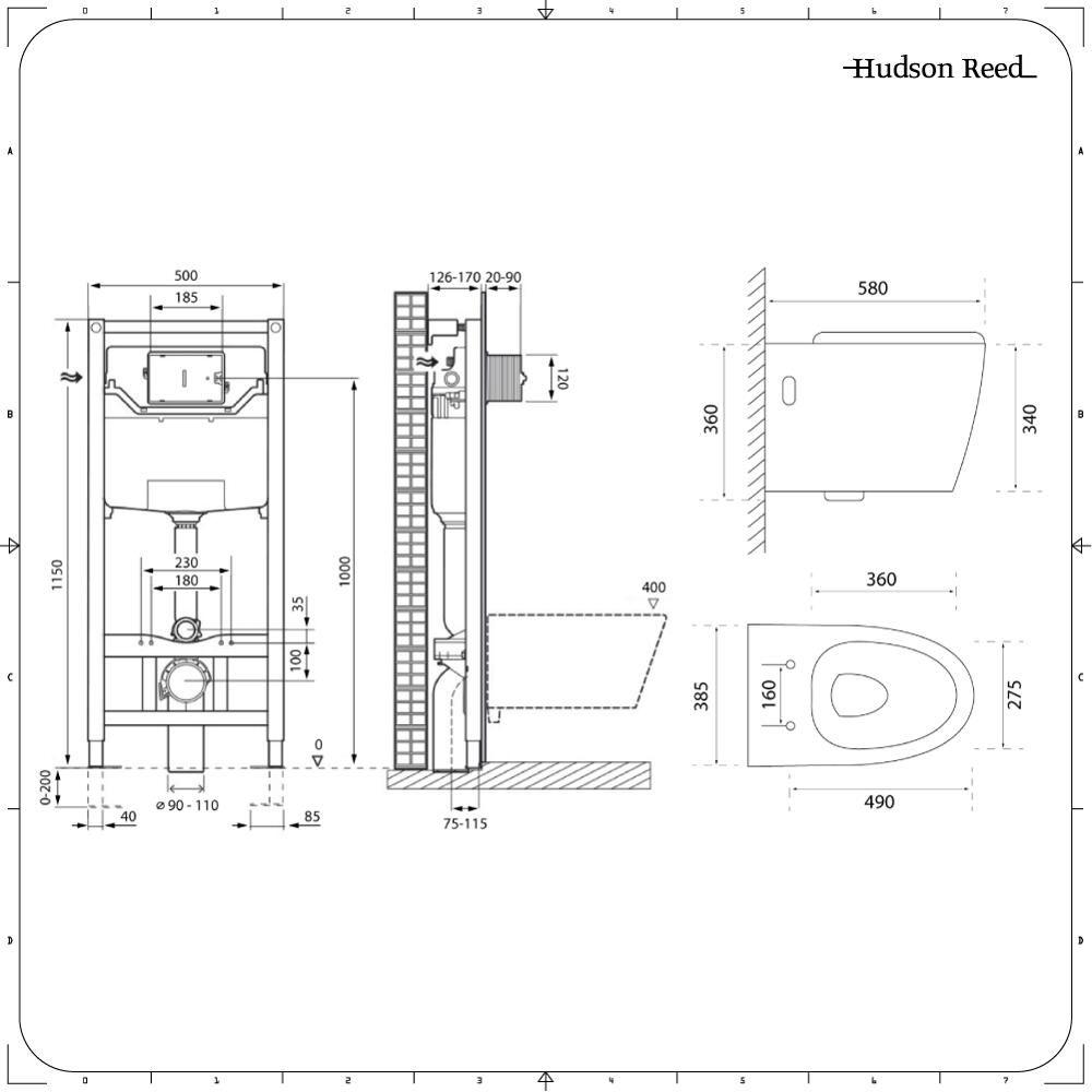 Altezza Placca Wc sanitario bagno wc ovale sospeso rimless 610x420x480mm con coprivaso,  telaio con cassetta ad incasso con placca di comando per wc a doppio  pulsante -