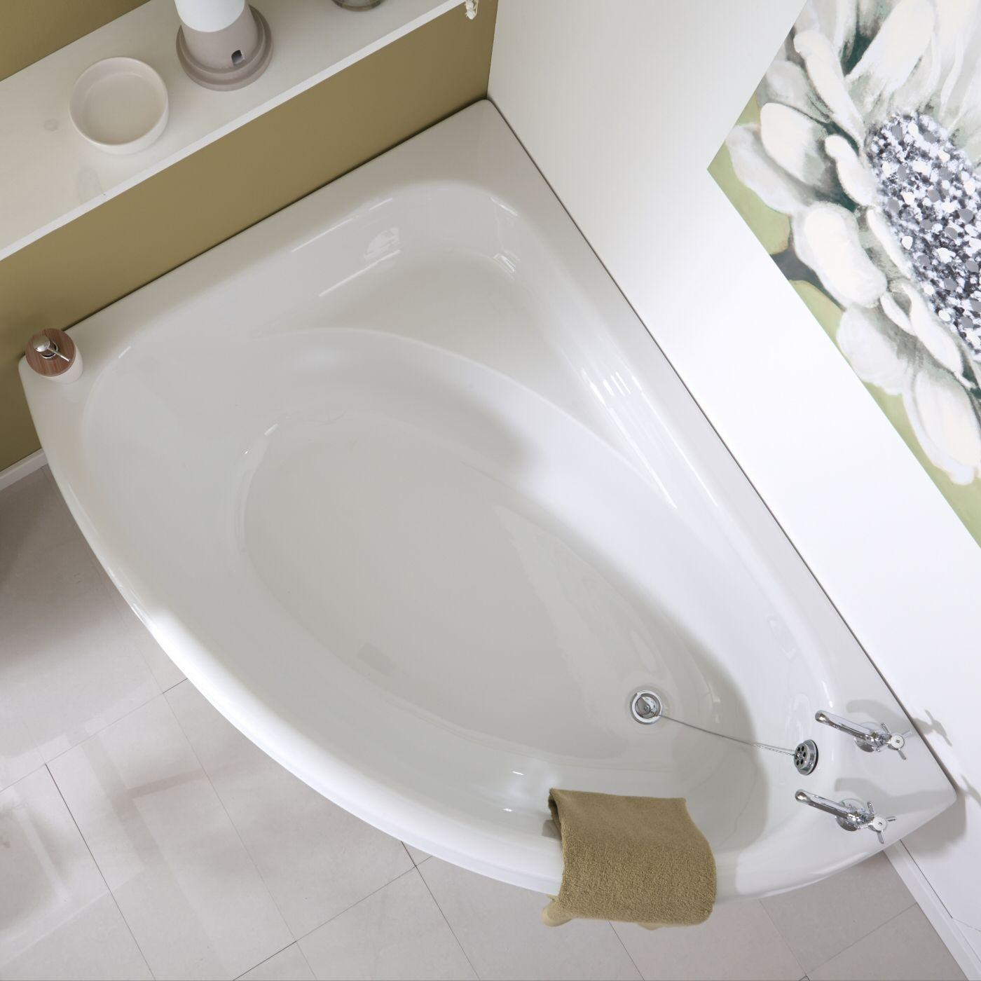 Pannelli Per Vasca Da Bagno Prezzi.Vasca Da Bagno 150x102cm In Acrilico Versione Angolare Sinistra Con