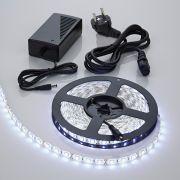 Biard Strisce LED 5 metri con Trasformatore 300 LED Colore Bianco Freddo