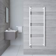 Radiatore Scaldasalviette Elettrico Piatto - Bianco - 1500mm x 600mm x 30mm - Etna