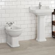 Bidet in Ceramica Bianca 405x390x565mm - Richmond