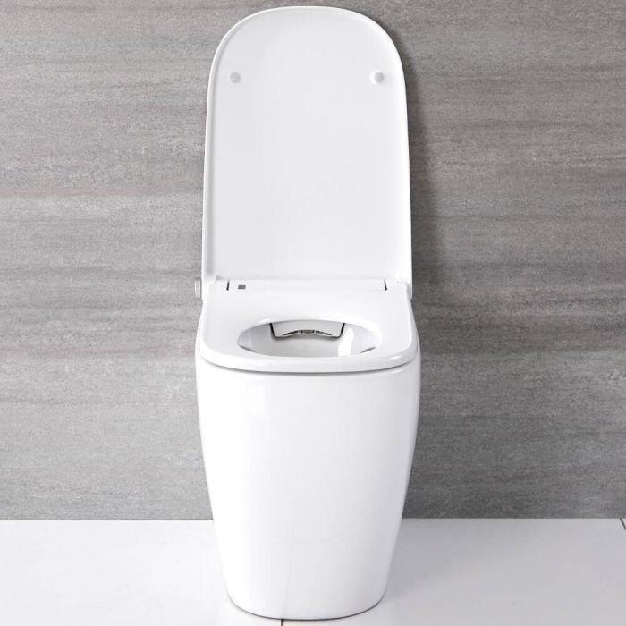 Smart Toilet Filo Parete Stile WC Giapponese con Sanitario e Bidet – Hirayu