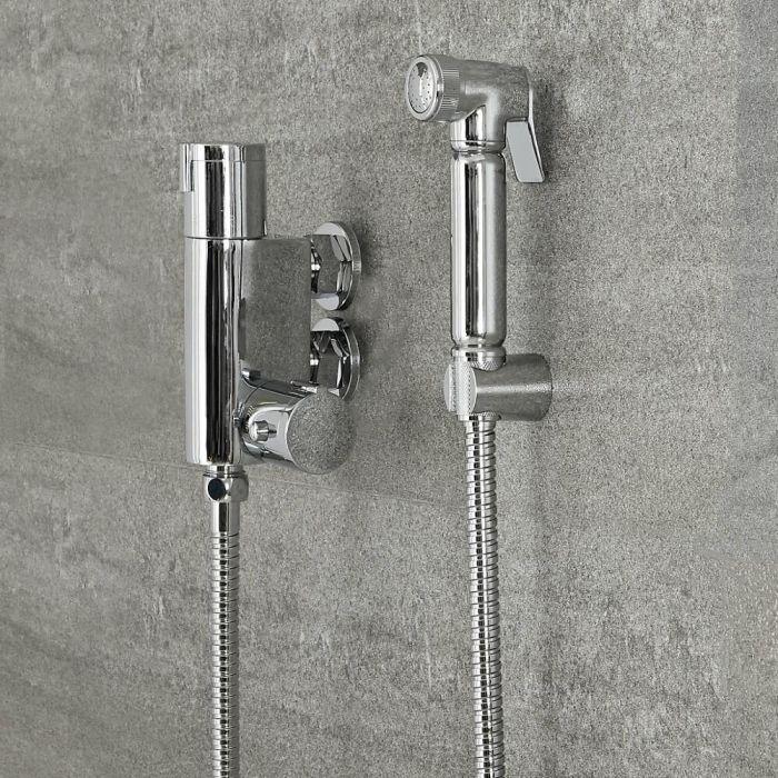 Kit Doccetta Igienica per WC con Miscelatore Termostatico