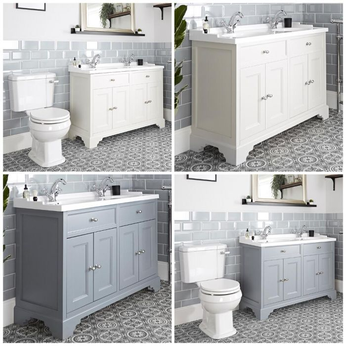 Mobile Tradizionale con Sanitario WC e Scarico Orizzontale – 1200mm - Thornton