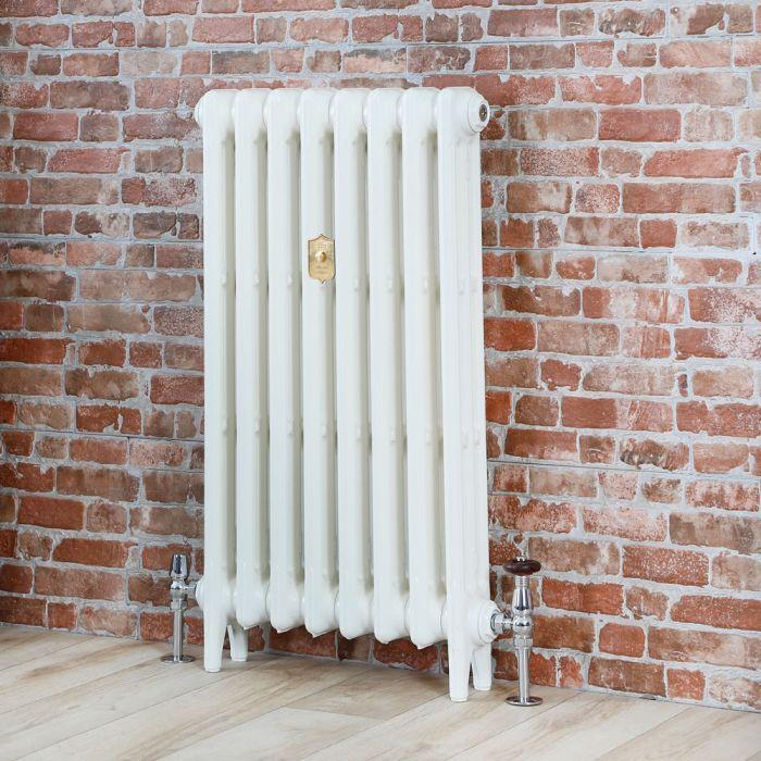 Radiatore Tradizionale in Ghisa Alto 660mm - Bianco Porcellana - Disponibile in Diverse Misure - Mercury