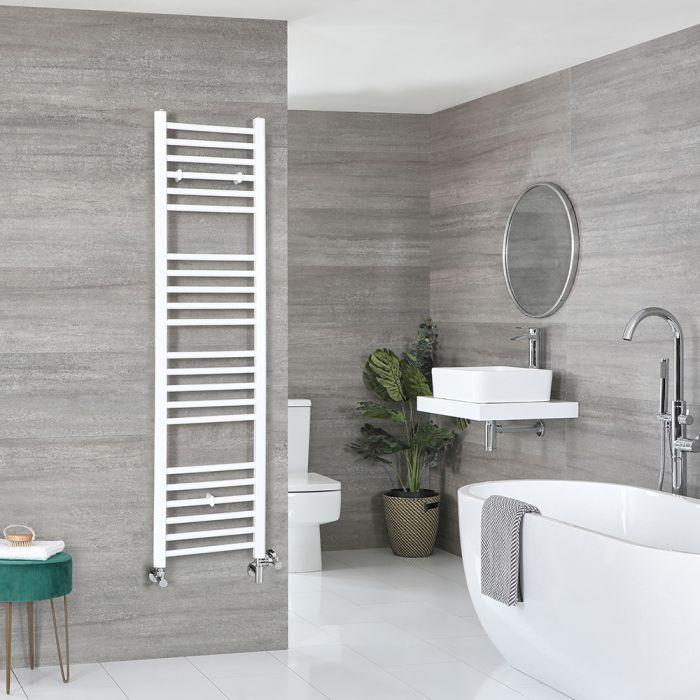 Scaldaslviette Misto Piatto - Termoarredo Bagno Bianco - 1600 x 400mm - 670W - Ive