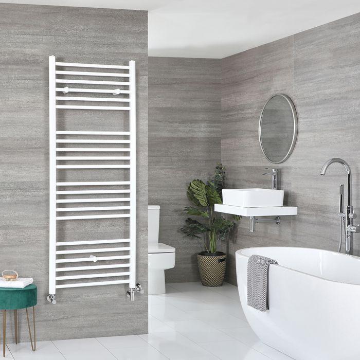 Scaldaslviette Misto Piatto - Termoarredo Bagno Bianco - 1600 x 600mm - 919W - Ive