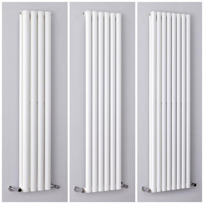 Radiatore di Design Verticale Bianco - Revive -  Disponibile in Diverse Misure
