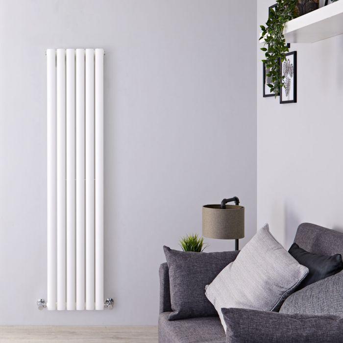 Radiatore Design Verticale Bianco Disponibile in Diverse Misure - Revive