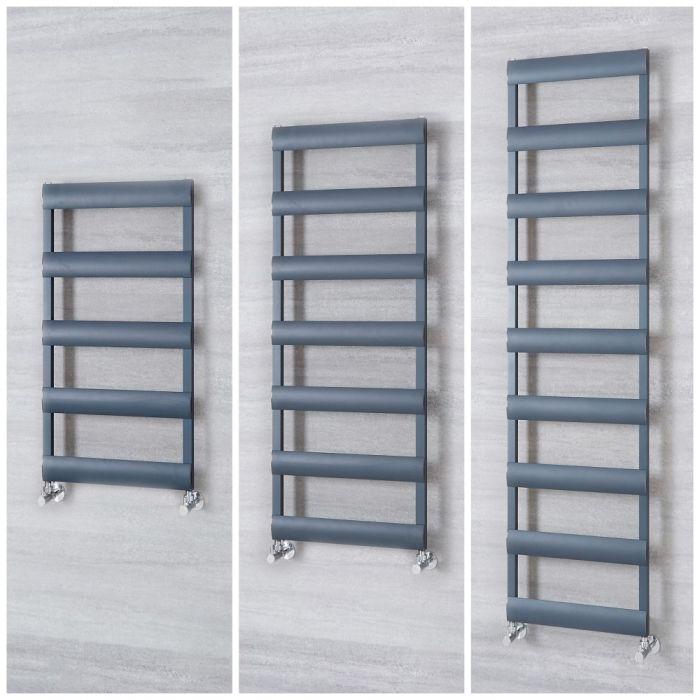 Radiatore Scaldasalviette in Alluminio – Antracite - Gradus – Diverse Misure