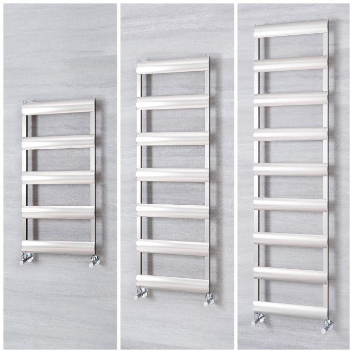 Radiatore Scaldasalviette in Alluminio – Cromato Spazzolato - Gradus – Diverse Misure
