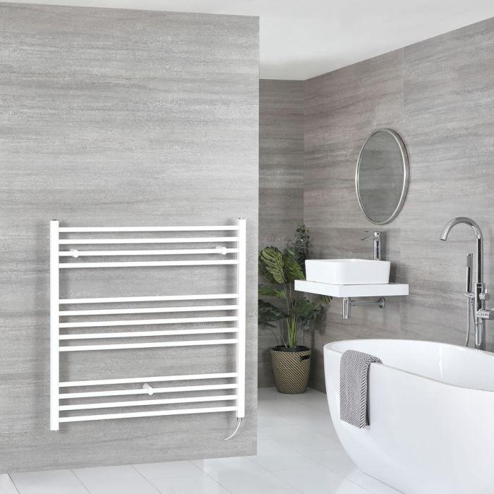 Scaldasalviette Termoarredo Bagno Elettrico Piatto Bianco - 1000 x 1000mm - Ive