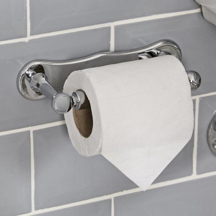 Porta Rotolo Carta Igienica Murale Tradizionale