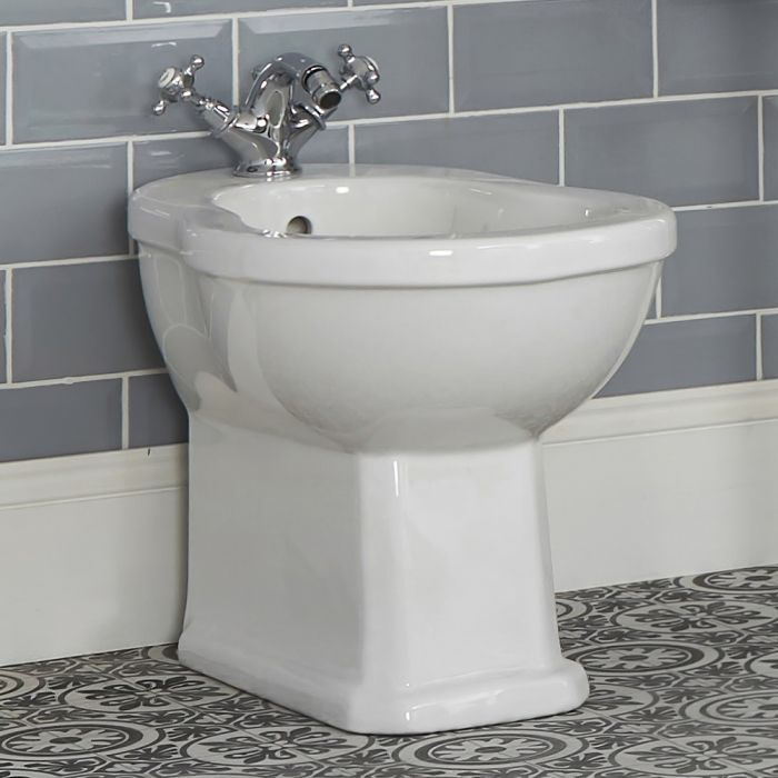 Bidet in Ceramica Bianca 405x390x565mm - Richmond