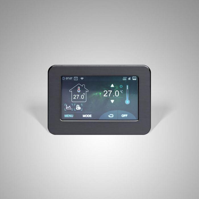 Termostato Wi-Fi Touchscreen per Riscaldamento Elettrico - Connect