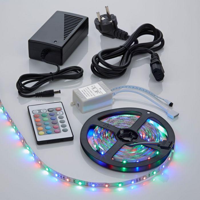 Biard Strisce LED 3528 5.M RGB Rosso Verde e Blu con Telecomando