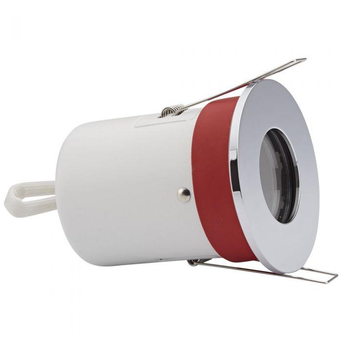 Biard Faretto LED da Incasso GU10 IP65 Protezione Ignifuga con Porta Faretto Disponibile in 3 Colori
