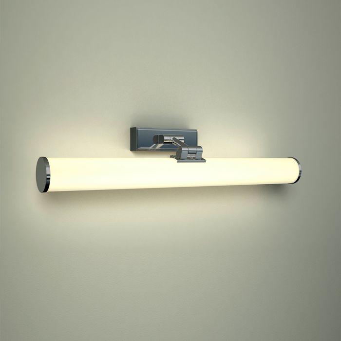 Applique LED Inclinabile IP44 Pensile in Alluminio con Finitura Cromata - Varese