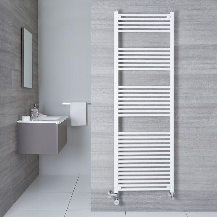 Radiatore Scaldasalviette Misto Piatto - Bianco - 1800mm x 500mm x 30mm - 1000 Watt - Etna