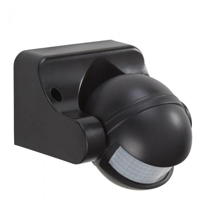 Sensore PIR di Movimento Nero con Angolo di Rilevamento di 180° Orientabile - Powermaster