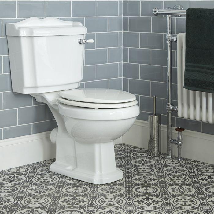 Sanitario Bagno WC Retro con Scarico Orizzontale