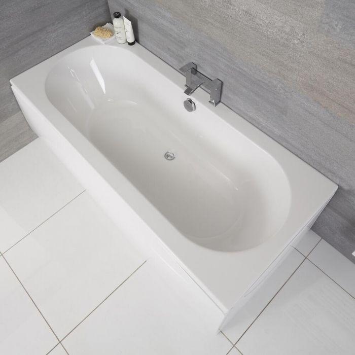 Vasca da Bagno Rettangolare 1700x700mm senza Pannello Vasca