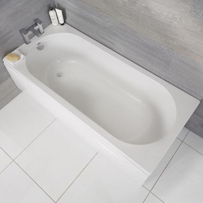 Vasca da Bagno Rettangolare in Acrilico 1800x800mm senza Pannello Vasca