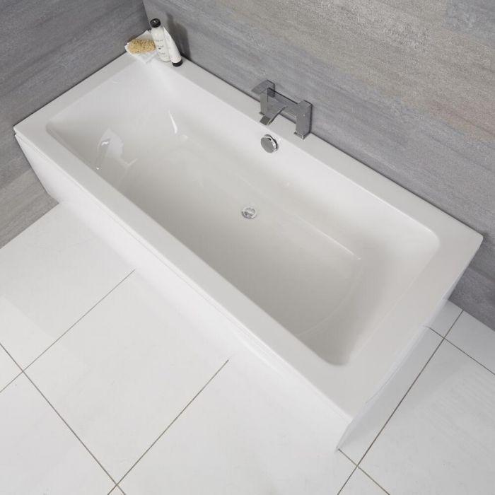 Vasca da Bagno Rettangolare 1700x750mm senza Pannello Vasca - Acrilico