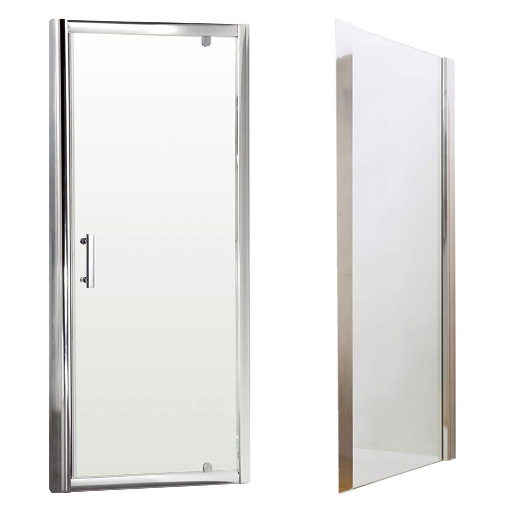 Cabina box doccia angolare con anta battente 900x1850mm - Box doccia un anta ...