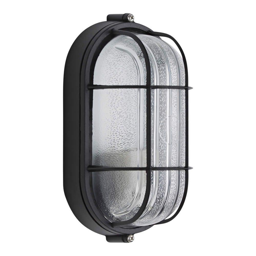 Lampada da parete ovale da esterno ad una luce for B w da esterno