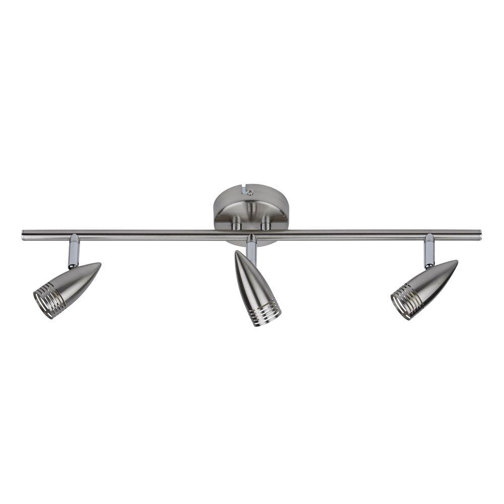 Binario porta faretti da soffitto a tre luci da soffitto bullet - Portapentole da soffitto ...