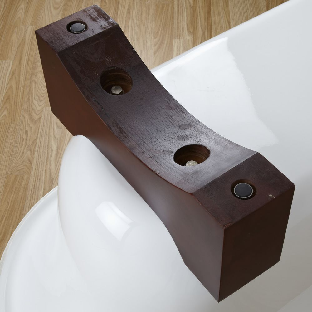 Vasca in acrilico ovale centro stanza freestanding moderna - Vasca acrilico ...
