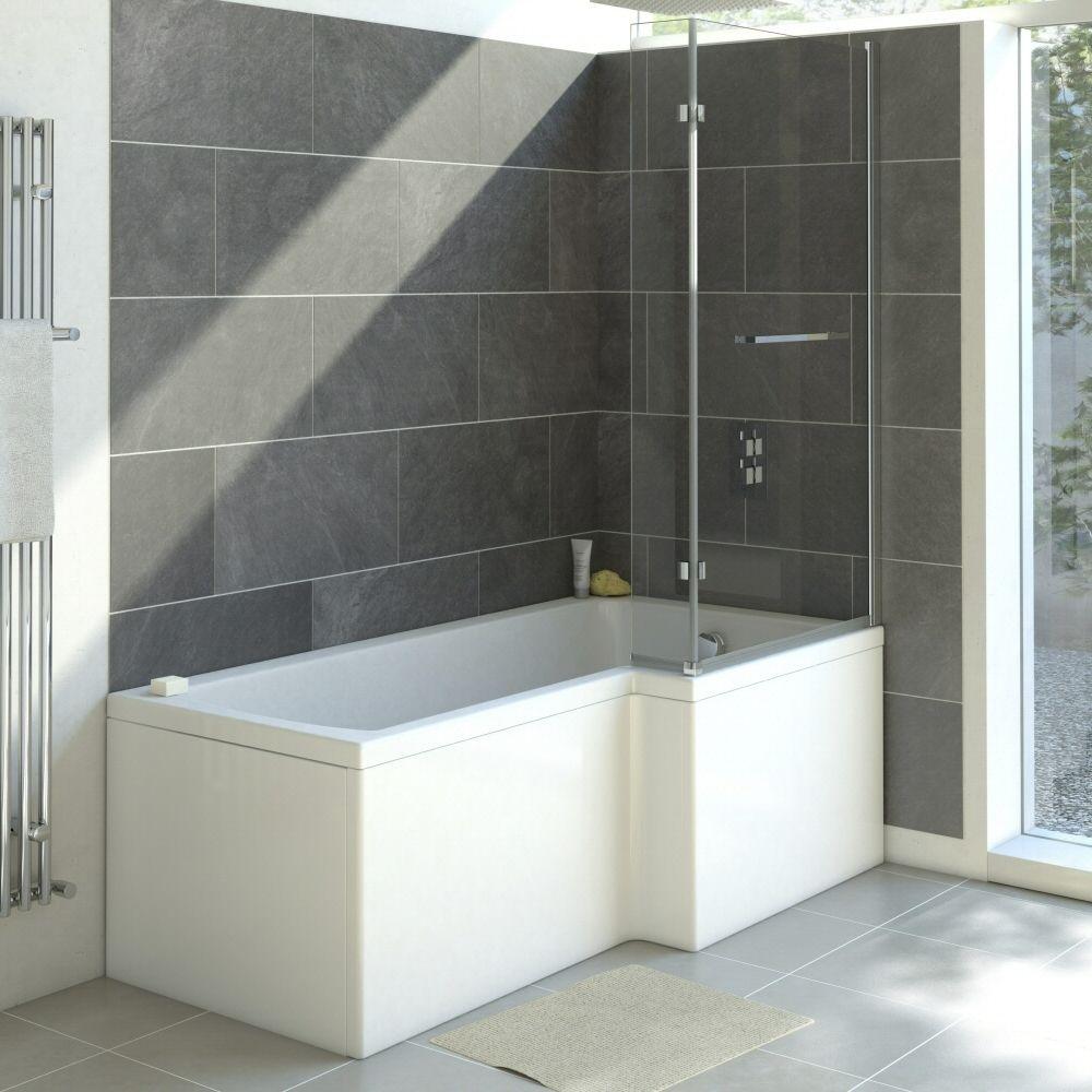 Vasca da bagno angolare destra in acrilico 85x170cm - Vasca da bagno acrilico ...