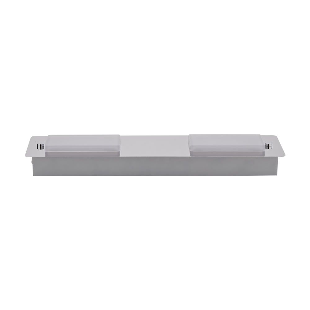 Plafoniera da soffitto rettangolare con 2 faretti led 9w - Plafoniera bagno ...