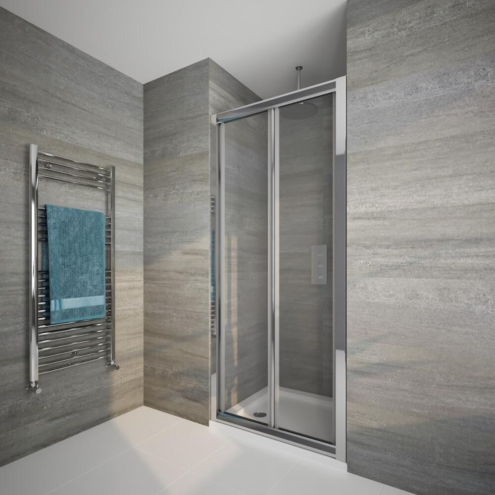 Porta doccia pieghevole 800x1950mm - Porta pieghevole ...