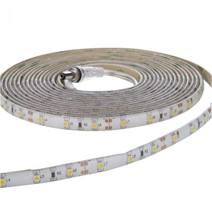 Strisce LED3528 5 metri Bianco Caldo Brillante Resistente all'acqua